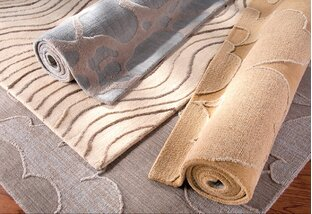 Peaceful Palette: Rugs & Pillows