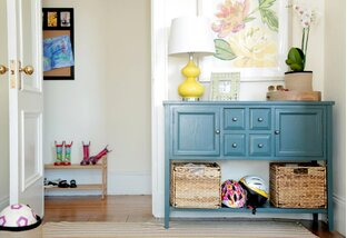 Mudroom Makeover: Storage & More