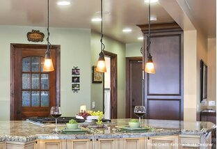 Well-Lit Home: Pendants & Track Lights