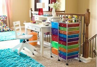 Get Crafty: Creative-Space Storage