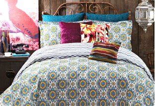 Colorful Boho-Chic Bedding