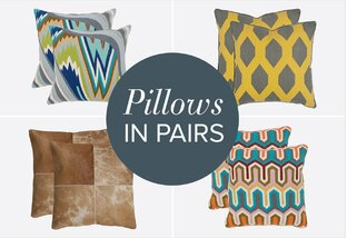 Pillows in Pairs