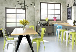 Colorful Kitchen & Dining