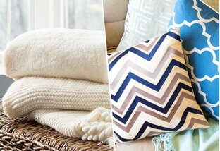 Buy Pillows, Throws & More Under $50!