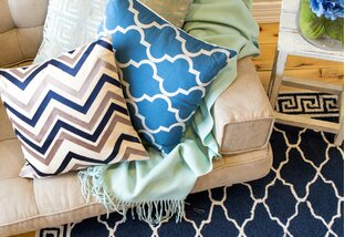 Made to Match: Rugs, Curtains & Pillows