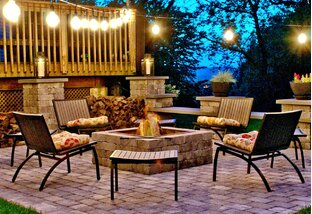 Summer Nights by the Fire