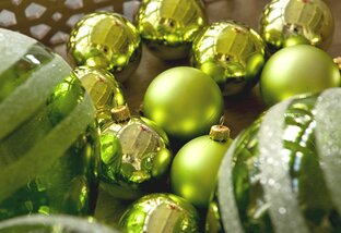 Green Holiday Decorations