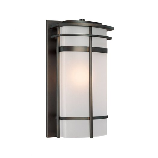 Capital Lighting Lakeshore Traditional 1 Light Outdoor Wall Lantern
