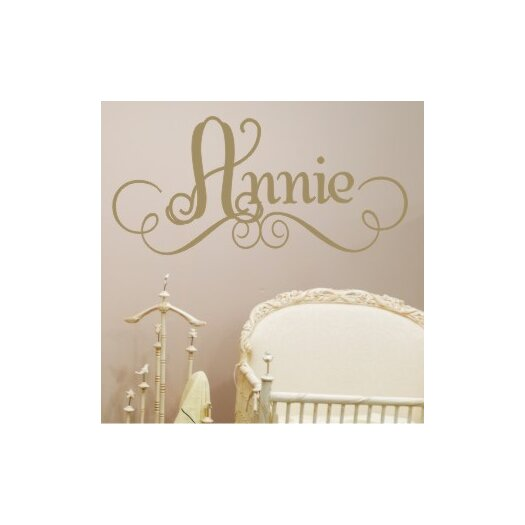 Annie's Personalized Wall Decal
