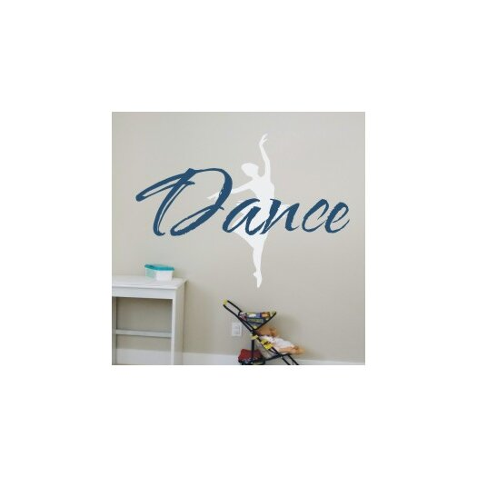 Alphabet Garden Designs Just Dance Wall Decal