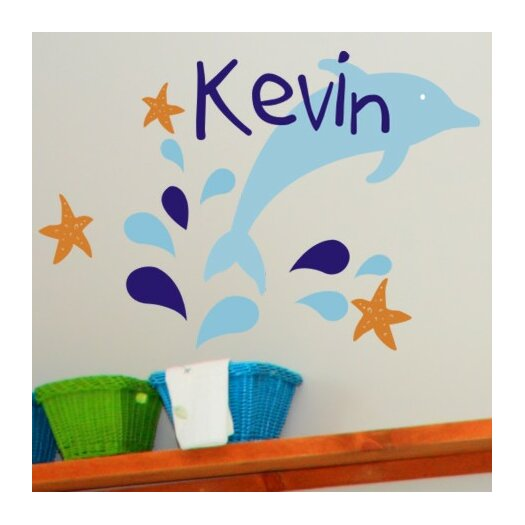 Dolphin Delight Wall Decal