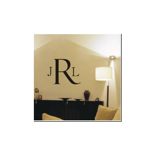 Alphabet Garden Designs Classic Monogram Wall Decal