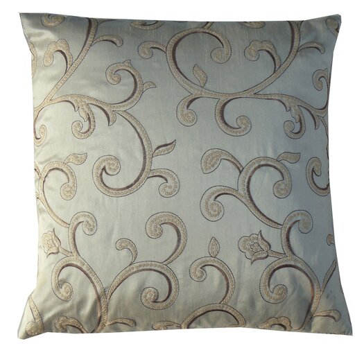 Jiti Stiletto Spiral Square Polyester Decorative Pillow