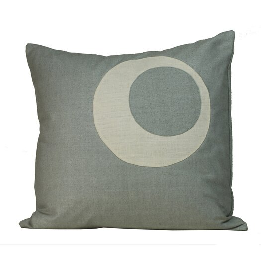 Jiti Half Moon Matka Silk Decorative Pillow