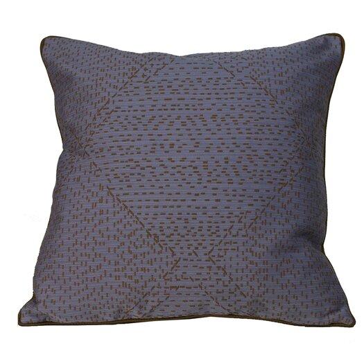 Jiti Traks Square Polyester Decorative Pillow
