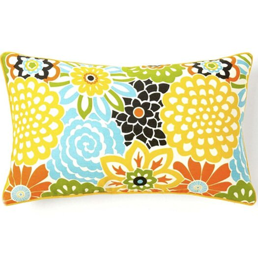 Jiti Bloom Throw Pillow