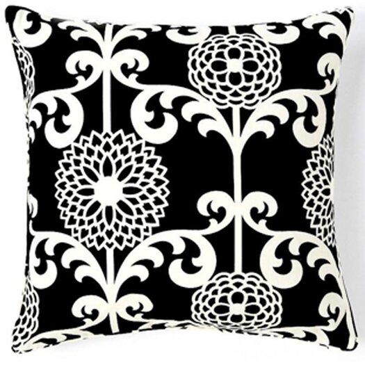 Jiti Floret Square Cotton Pillow
