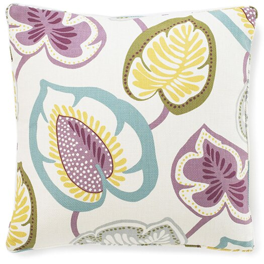 Jiti Hosta Lily Cotton Pillow
