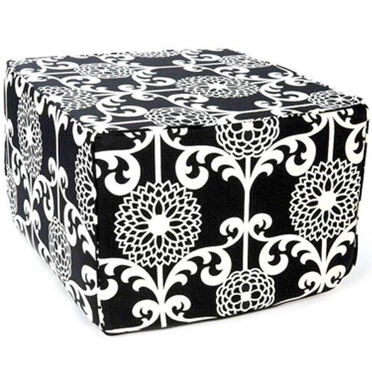 Jiti Floret Cotton Cube Ottoman