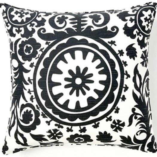 Jiti Suzani African Square Cotton Pillow