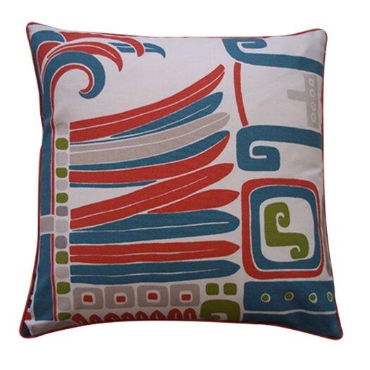 Jiti Kaleidoscope Cotton Pillow