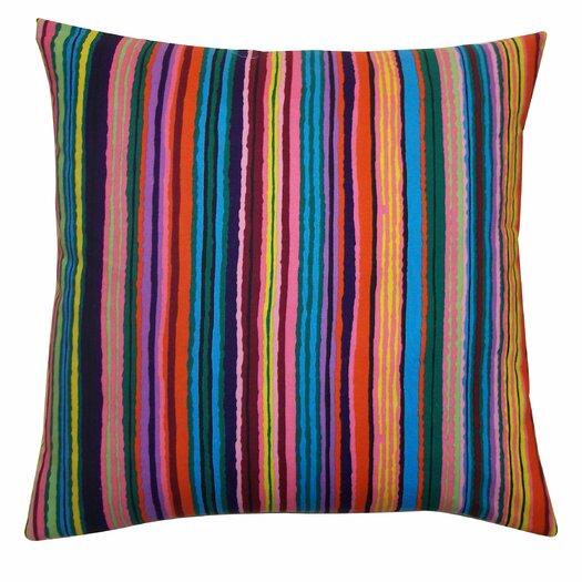 Jiti Strokes Cotton Pillow