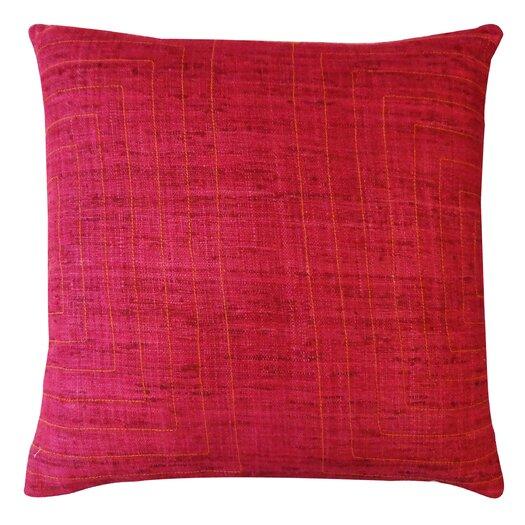 Jiti Streams Silk Throw Pillow