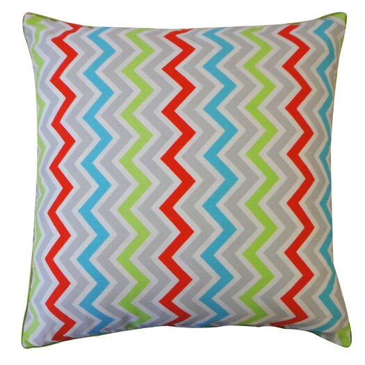 Jiti Zig Zag Cotton Pillow