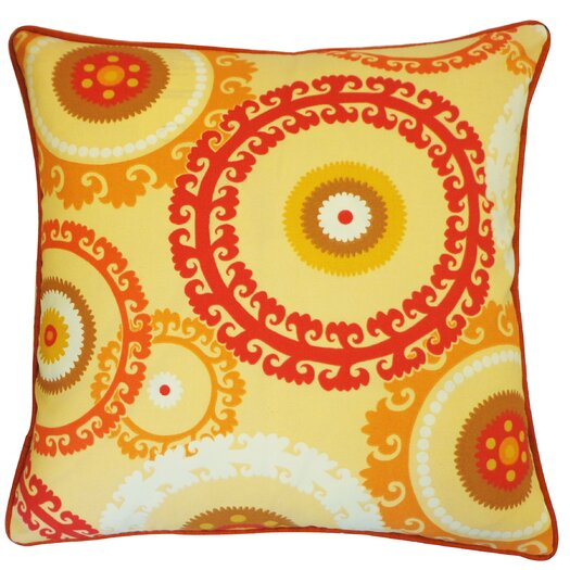 Jiti Buttons Polyester Pillow