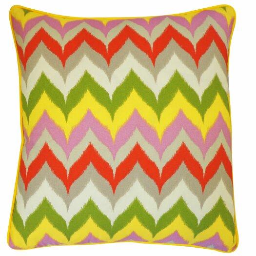 Jiti Dripping Paint Polyester Pillow