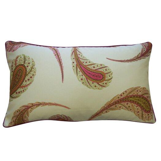 Jiti Peacock Satin Cotton Pillow