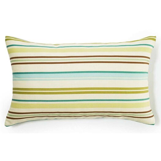 Jiti Thin Horizontal Stripes Outdoor Decorative Pillow