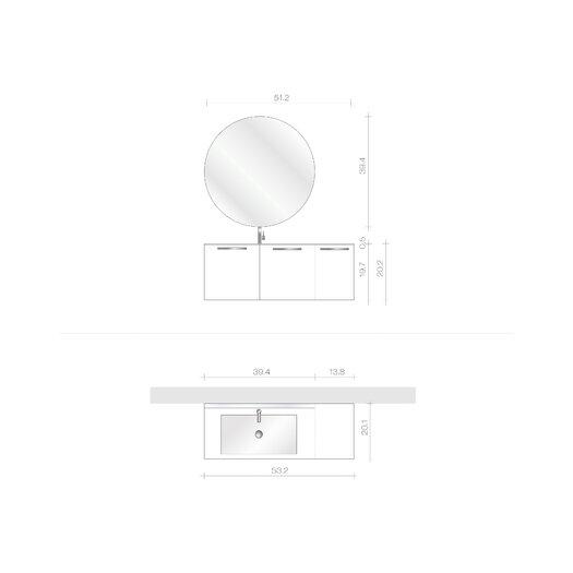 "Acquaviva Essenze 4 53.15"" Bathroom Vanity Set"
