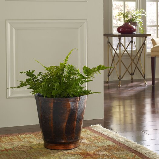 PoliVaz Copperworks Round Planter