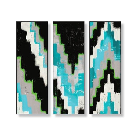 ptm images kilim 3 piece wall decor set allmodern. Black Bedroom Furniture Sets. Home Design Ideas