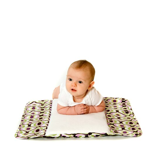 Ah Goo Baby The Plush Pad Memory Foam Changing Pad in Spa