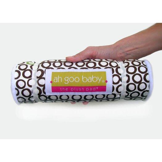 Ah Goo Baby Memory Foam Changing Pad in Bubbles in Cola