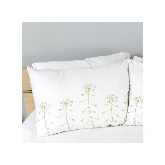 threesheets2thewind Wildflowers Standard Pillow Cover