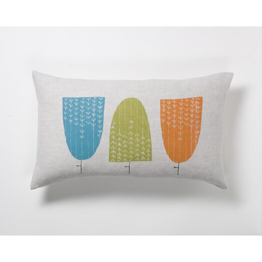 threesheets2thewind Grove of Hedges Pillow