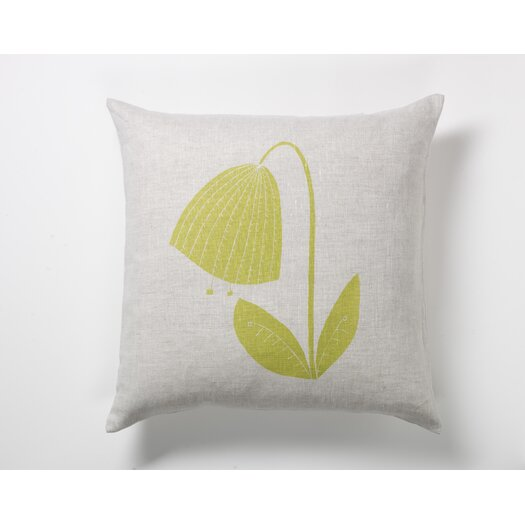 threesheets2thewind Bent Tulip Pillow