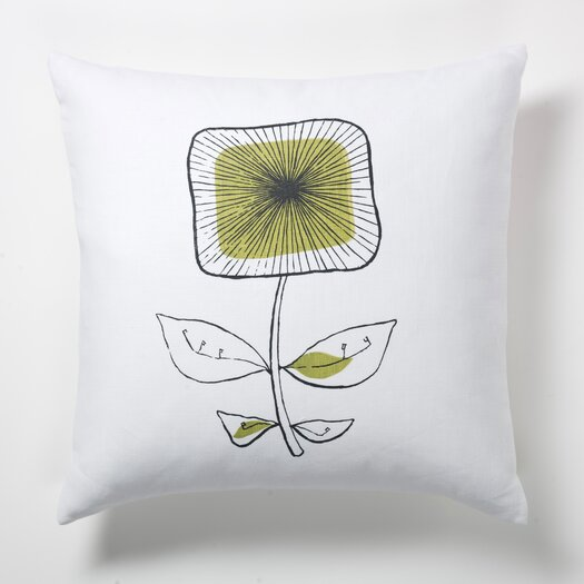 threesheets2thewind Square Flower Pillow