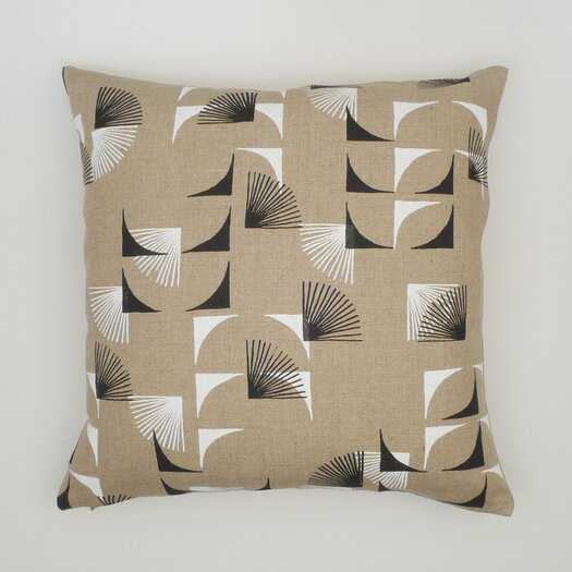 Abstract Linen Pillow