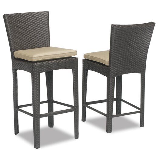 Sunset West Malibu Barstool with Cushion
