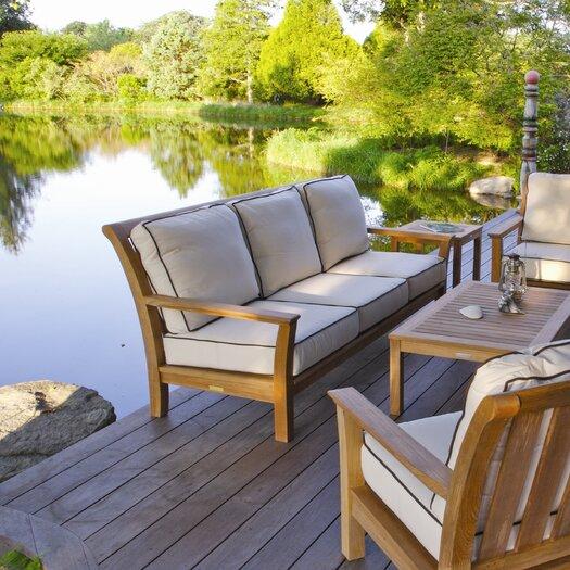 Kingsley Bate Chelsea Deep Seating Sofa with Cushions