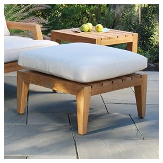 Kingsley Bate Mendocino Deep Seating Ottoman with Cushion