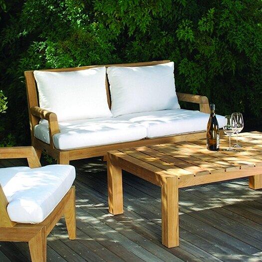 Kingsley Bate Mendocino Deep Seating Settee with Cushion