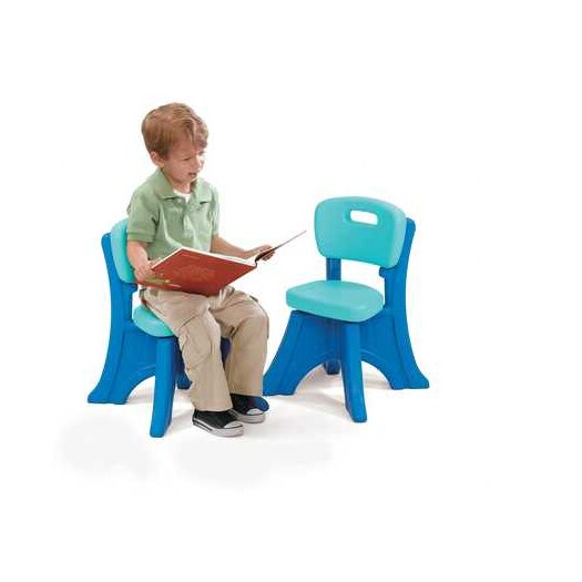 Step2 Play and Shade Kid's Desk Chair (2 pack)