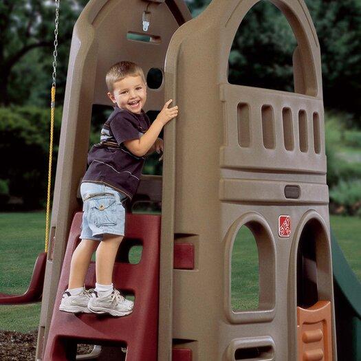 Step2 Naturally Playful Playhouse Climber Swing Set