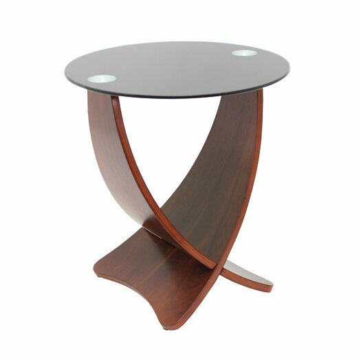 LumiSource Criss Cross End Table II