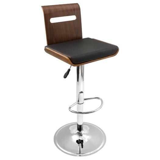LumiSource Viera Adjustable Height Bar Stool